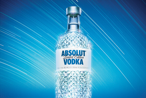 Absolut Glimmer Campaign